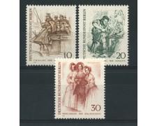 1969 - LOTTO/15536 - BERLINO - FIGURE CARATTERISTICHE 3v. - NUOVI