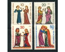 1970 - LOTTO/15537 - BERLINO - PRO GIOVENTU TROVATORI  4v. - NUOVI