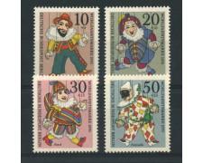 1970 - LOTTO/15538 - BERLINO - BENEFICENZA MARIONETTE 4v. - NUOVI