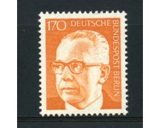 1970 - LOTTO/15545 - BERLINO - 1.70p. PRESIDENTE HEINEMANN - NUOVO