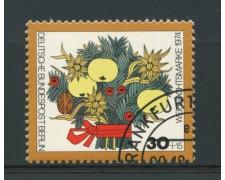 1974 - LOTTO/15576U - BERLINO - NATALE FIORI -  USATO