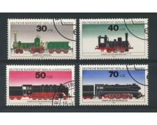 1975 - LOTTO/15579U - BERLINO - PRO GIOVENTU' LOCOMOTIVE 4v. - USATI