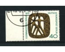 1975 - LOTTO/15581U  - BERLINO - TORNEO DI GINNASTICA - USATO