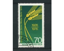 1976 - LOTTO/15594U  - BERLINO - SETTIMANA VERDE -  USATO