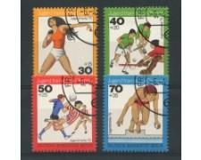 1976 - LOTTO/15595U  - BERLINO - PRO GIOVENTU' SPORT 4v. -  USATI