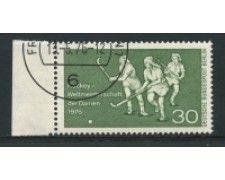 1976 - LOTTO/15596U  - BERLINO - CAMPIONATO DI HOCKEY - USATO