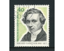 1977 - LOTTO/15603U  - BERLINO - EDUARD GAERTNER - USATO
