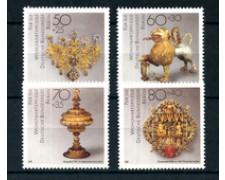 1988 - LOTTO/15742 - BERLINO - OPERE D'ARTE 4v. - NUOVI