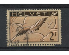 1929/30 - LOTTO/15846B - SVIZZERA - 2 FRANCHI POSTA AEREA - USATO