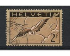 1929/30 - LOTTO/15846 - SVIZZERA - 2 FRANCHI POSTA AEREA - USATO