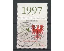 1997 - LOTTO/15848 - GERMANIA -  PRO ALLUVIONATI - USATO