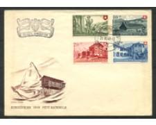 1948 - LOTTO/15888 - SVIZZERA - PRO PATRIA 4v. - BUSTA
