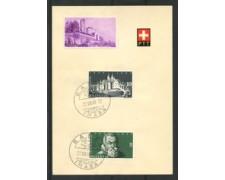 1948 - LOTTO/15890 - SVIZZERA - 5/10c. WESTFALIA - ANNULLO IMABA