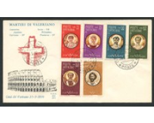 1959 - LOTTO/16012 - VATICANO - MARTIRI DI VALERIANO - FDC