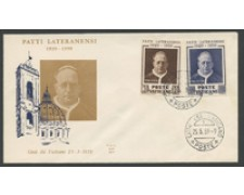 1959 - LOTTO/16017 - VATICANO - PATTI LATERANENSI - FDC