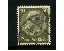 1932/33 - LOTTO/16167 - GERMANIA - 30p. BRUNO - HINDENBURG - USATO