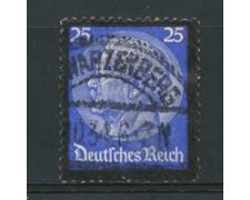 1934 - LOTTO/16181 - GERMANIA - 25p. MORTE  HINDENBURG - USATO