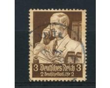 1934 - LOTTO/16185 - GERMANIA - 3+2p. SOCCORSO INVERNALE - USATO