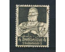 1934 - LOTTO/16186 - GERMANIA - 4+2p. SOCCORSO INVERNALE - USATO