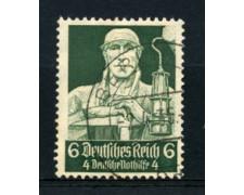 1934 - LOTTO/16188 - GERMANIA - 6+4p. SOCCORSO INVERNALE - USATO
