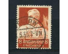 1934 - LOTTO/16189 - GERMANIA - 8+4p. SOCCORSO INVERNALE - USATO