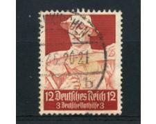 1934 - LOTTO/16190 - GERMANIA - 12+3p. SOCCORSO INVERNALE - USATO