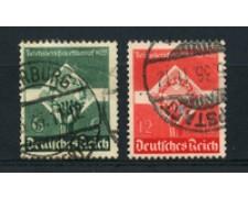 1935 - LOTTO/16195 - GERMANIA - CONCORSO GIOVENTU' OPERAIA 2v. - USATI