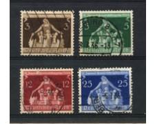 1936 - LOTTO/16212 - GERMANIA - CONGRESSO MUNICIPALITA' 4v. - USATI