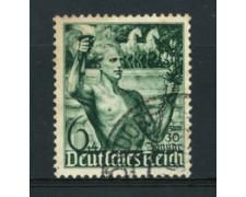 1938 - LOTTO/16217 - 6+4p. REGIME NAZIONAL-SOCIALISTA - USATO