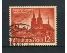 1940 - LOTTO/16223 - GERMANIA - 12+8P. RIANNESSIONE  EUPEN - USATO