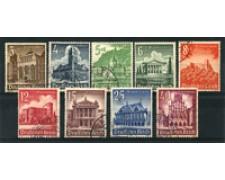 1940 - LOTTO/16225 - GERMANIA - SOCCORSO INVERNALE 9v. - USATI