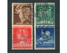 1941 - LOTTO/16228 - GERMANIA - FIERA DI VIENNA 4v. - USATI