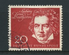 1959 - LOTTO/16252 - GERMANIA FEDERALE - 20p. BEETHOVEN - USATO
