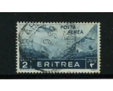 1936 - LOTTO/16298 - ERITREA - 2 LIRE POSTA AEREA - USATO
