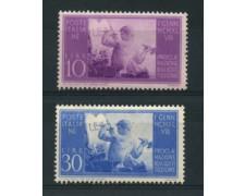 1948 - LOTTO/16309 - REPUBBLICA - COSTITUZIONE 2v. - NUOVI