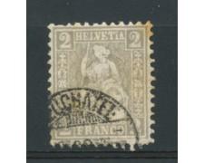 1962 - LOTTO/16315 - SVIZZERA - 2 Cent. GRIGIO - USATO