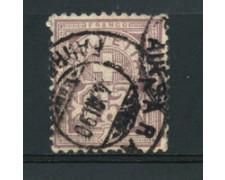1882/99 - LOTTO/16316  - SVIZZERA - 15 CENT. VIOLETTO GRIGIO - USATO