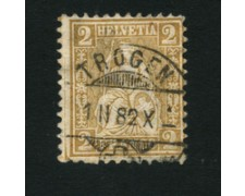 1867/78 - LOTTO/16321C - SVIZZERA - 2c.  BISTRO - USATO