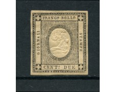 1861 - LOTTO/16470 - REGNO - 2 CENT. PER STAMPATI - LINGUELLATO