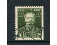 1929 - LOTTO/16478 - REGNO - 50+10c. PRO VETERANI - USATO