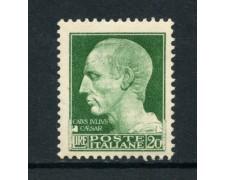 1929 - LOTTO/16484 - REGNO - 20 LIRE IMPERIALE - NUOVO