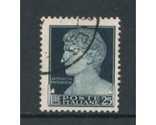 1929 - LOTTO/16487 - REGNO - 25 LIRE IMPERIALE - USATO