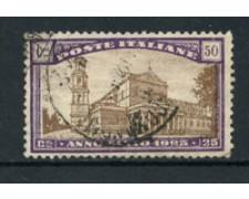 1924 - LOTTO/16495 - REGNO - 50+25cent. ANNO SANTO - USATO