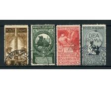 1911 - LOTTO/16499 - REGNO - UNITA' D'ITALIA 4v. - USATI