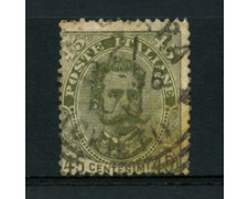 1891 - LOTTO/16524 - REGNO - 45 CENT. VERDE UMBERTO I° - USATO