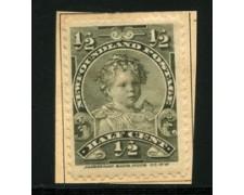 1897/91 - LOTTO/16570 - TERRANOVA - 1/2 cent. PRINCIPE EDOARDO - LING.