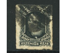 1878/79 - LOTTO/16581 - BRASILE - 200r.  PEDRO II° - USATO