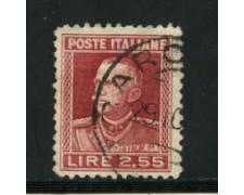 1927 - LOTTO/16624 - REGNO - 2,55 LIRE  EFFIGIE  - USATO