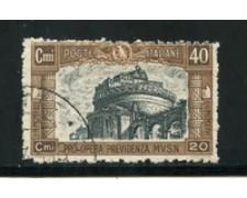 1926 - LOTTO/16626 - REGNO - 40+20c. MILIZIA - USATO