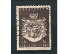 1969 - LOTTO/16643 - LIECHTENSTEIN - 3,50 Fr. STAMMA - USATO